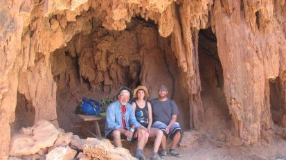 Cave halfway to Mooney