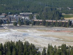 Geyser Basin Observation Point