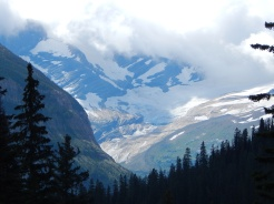 zoomed in on Jackson Glacier